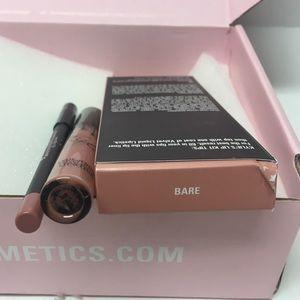 Kylie Cosmetics Makeup - Kylie Jenner lip kit velvet lipstick & liner Bare